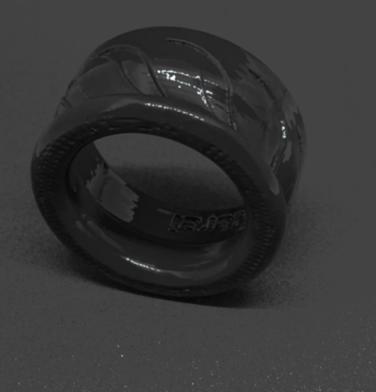 schwarzes Mundstück